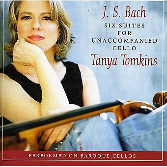 Tanya Tomkins - Cello Suites [CD] USA import