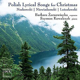Noskowski / Lutoslawski - Polish Lyrical Songs for Christmas [CD] USA import