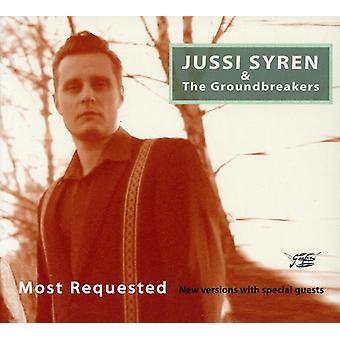Jessi Syren & Groundbreakers - mest efterspurgte [CD] USA importerer