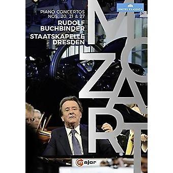 Rudolf Buchbinder Plays Mozart Piano Concertos [DVD] USA import