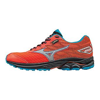 Mizuno SS17 Womens Wave RIDER 20 GTX Running Shoes - Neutral - UK 6 - Coral