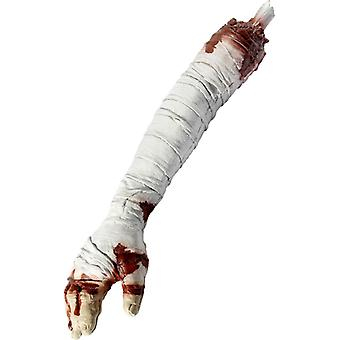 Bloody arm chopped off arm decoration Halloween Mummy
