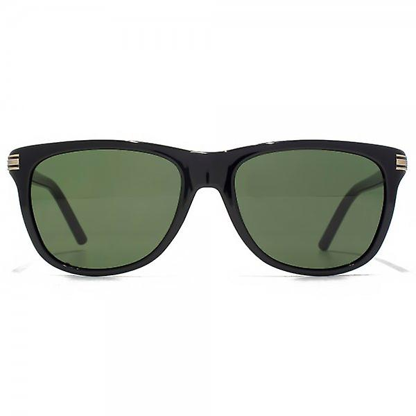 Montblanc Wayfarer Style Sunglasses In Black