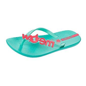 Ipanema Meow Girls Flip Flops / Sandals - Mint Green