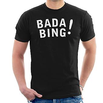 Bada Bing die Sopranos Männer T-Shirt