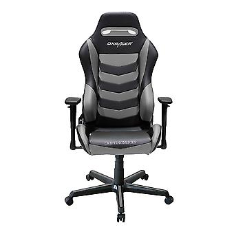 DX Racer DXRacer Drifting Series OH/DM166/NG High-Back Office Chair Gaming Chair Guest Chair(Black/Gray)