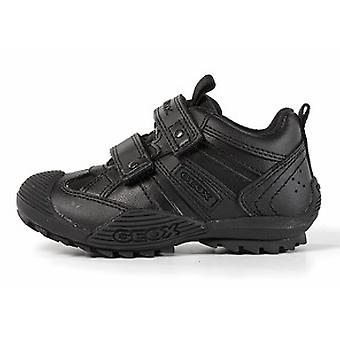 Geox Chaussures Garçons Sauvages scolaires noir