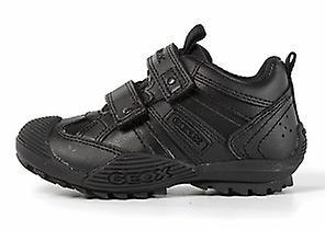 Geox Chaussures Garçons Sauvages scolaires noir