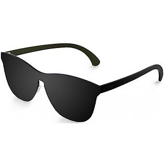 Ocean La Mission Flat Lense Sunglasses - Black