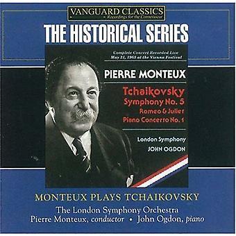 Pierre Monteux - Monteux spiller Tjajkovskij [CD] USA import
