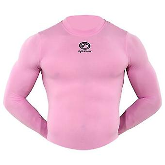 OPTIMUM Thinskin Thermo Long Sleeved Baselayer Top [pink]