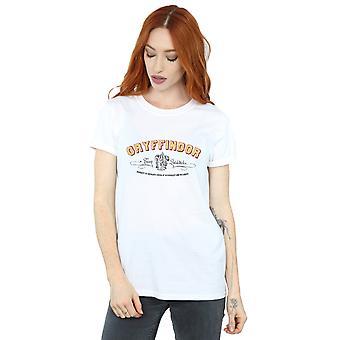 Gryffondor équipe Quidditch Boyfriend de la femme de Harry Potter Fit T-Shirt