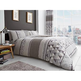 Madison Double Duvet Cover Set Natural