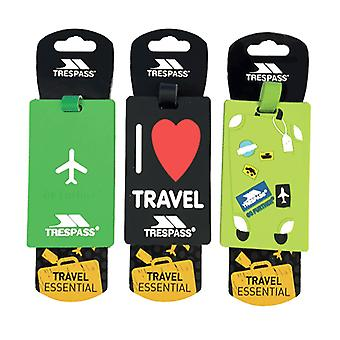Trespass Traveltag 2016 Luggage Tags