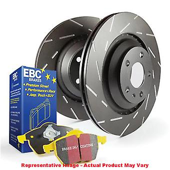 EBC Brake Kit - S9 Yellowstuff and USR Rotors S9KR1108 Fits:CADILLAC  2007 - 20