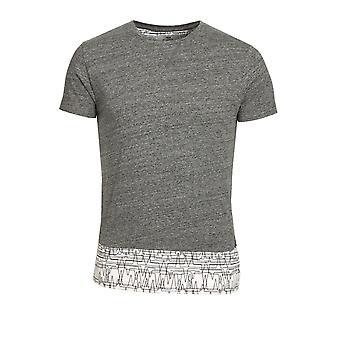 BELLFIELD Asberg Grey Marl T-Shirt