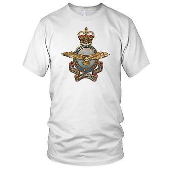 Royal Canadian Air Force odznaka Grunge efekt Panie T Shirt