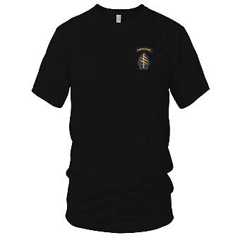 US Army - Army Special Operations Command Socom Embroidered Patch - Color Mens T Shirt