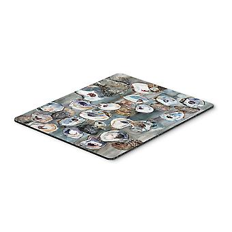 Carolines Treasures  8957MP Bunch of Oysters Mouse Pad, Hot Pad or Trivet