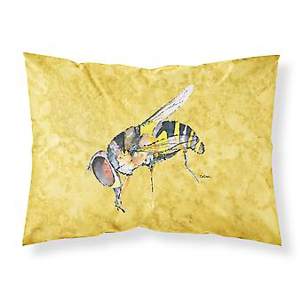 Carolines tesori 8851PILLOWCASE Bee su giallo traspirante in tessuto standa
