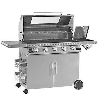Beefeater Discovery 1100 Premium 5 Burner Gas BBQ + Side Burner
