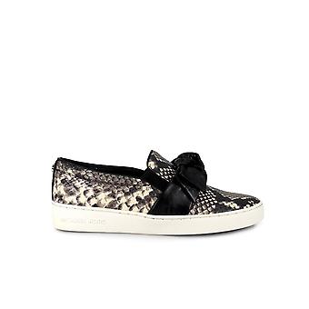 MICHAEL KORS WILLA BLACK/PYTHON SLIP ON