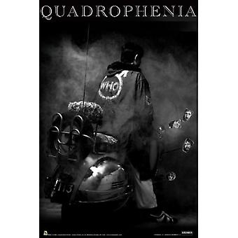 Quadrophenia The Who Poster Poster Print