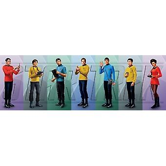 Star Trek - Cast Plakat Poster drucken