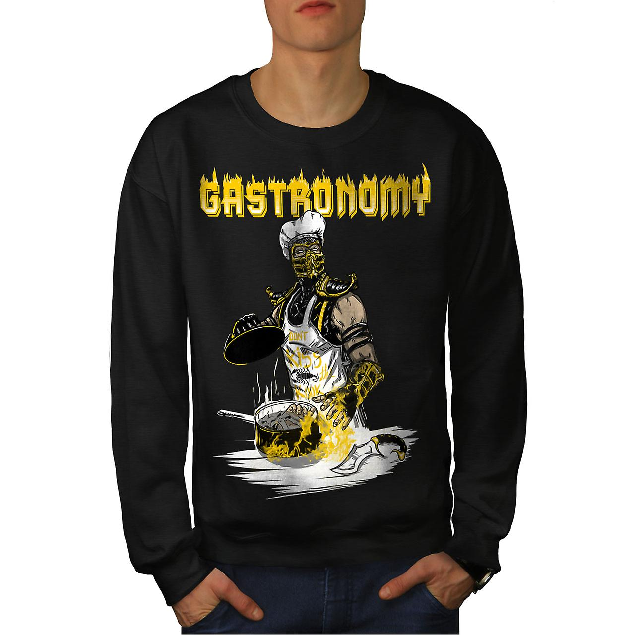 gastronomie chef koch m nner schwarzes sweatshirt. Black Bedroom Furniture Sets. Home Design Ideas