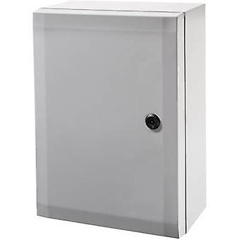 Wall-mount enclosure, Build-in casing 200 x 300 x 150 Polycarbonate (PC) Grey