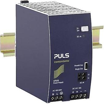 Rail mounted PSU (DIN) PULS DIMENSION CPS20.241 24 Vdc 20 A 480 W 1 x