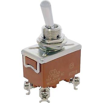 Toggle switch 250 V AC 15 A 2 x Off/On Panasonic T
