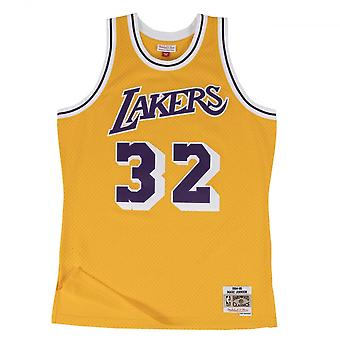 Mitchell & Ness Nba Los Angeles Lakers Magic Johnson 1984-85 Swingman Jersey