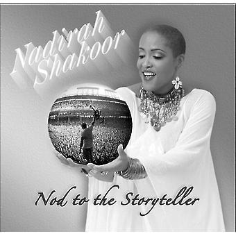Nadirah Shakoor - hilsen til historiefortæller [CD] USA importerer