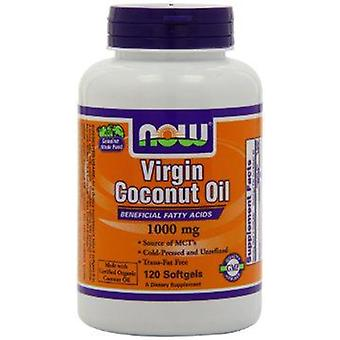 Now Foods Coconut Oil Virgin 1000Mg 120 Softgels (Sport , Athlete's health , Omega 3-6-9)