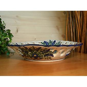 Bowl of unique 45 - BSN 0151 gebrochem edge, Ø 23 cm, 5 cm high,