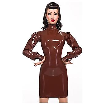 Westward Bound Rapture Latex Rubber Dress.
