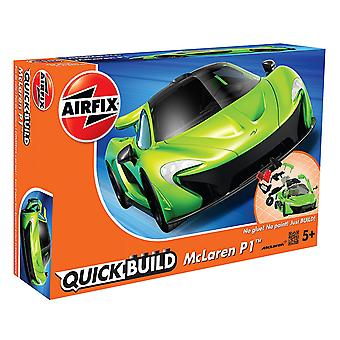 Airfix Quick Build Mclaren P1 modèle - vert