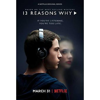 Thirteen Reasons Why (TV) Movie Poster (11 x 17)