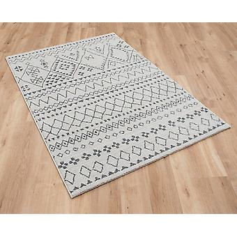 Skald 49006 6242 cream grey  Rectangle Rugs Plain/Nearly Plain Rugs