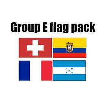 GROEP E Football World Cup 2014 vlag Pack (5 ft x 3 ft)
