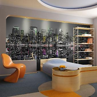 Wellindal Wallpaper new york a place where the dreams are born (Decoration , Vinyls)