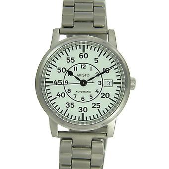 Aristo Unisex Watch wristwatch submarine clock automatic titanium 5H92TIB