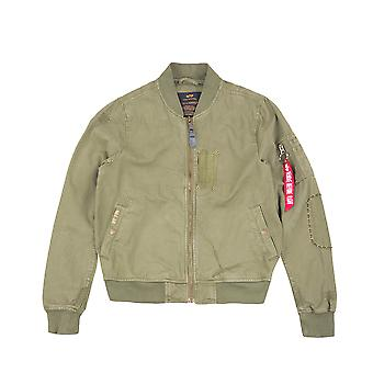 Alpha industries men's jacket MA-1 GC vintage TW