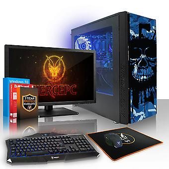 PC Gaming esilio feroce, veloce AMD FX-6300 4.1 GHz, HDD da 1 TB, 8 GB di RAM, GTX 1050 Ti 4 GB