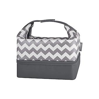 Thermos Raya Pack-In Lunch Kit (Chevron w/Lunch zaak)