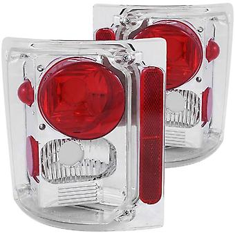 Anzo USA 211014 Chevrolet Chrome Tail Light Assembly - (Sold in Pairs)