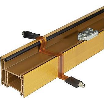 Cable de extensión [1 x zócalo de F - 1 x socket F] se sentó 0.25 m conducto de ventana, conectores enchapados oro cobre Renkforce
