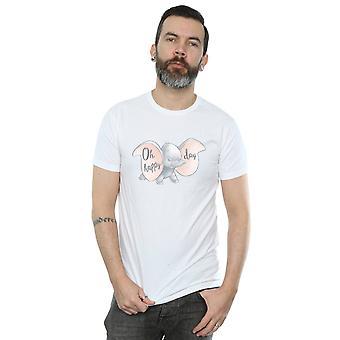 Disney Men's Dumbo Happy Day T-Shirt