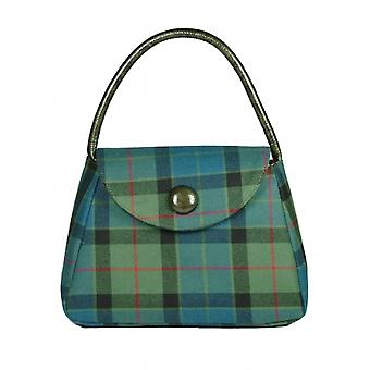 Harris Tweed or Tartan Handbag S (Flower of Scotland Tartan)